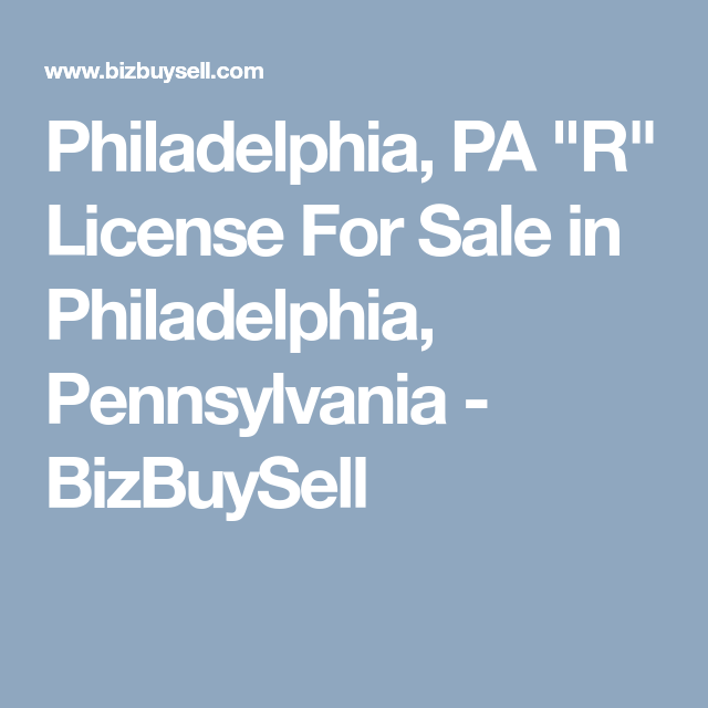 How To Get A Business License In Philadelphia Pa