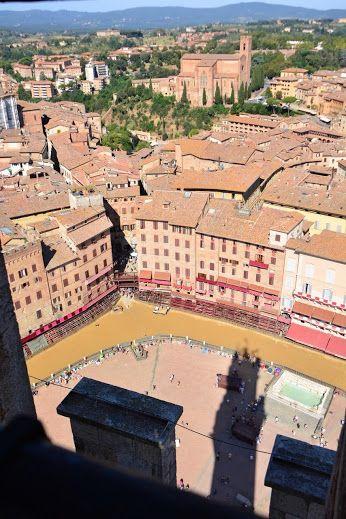 Piazza del Campo, Siena, #Toscane, #Tendi