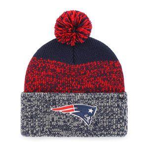47 Brand New England Patriots Static Cuff Pom Winter Knit Hat (Navy ... cc4ddcdc2