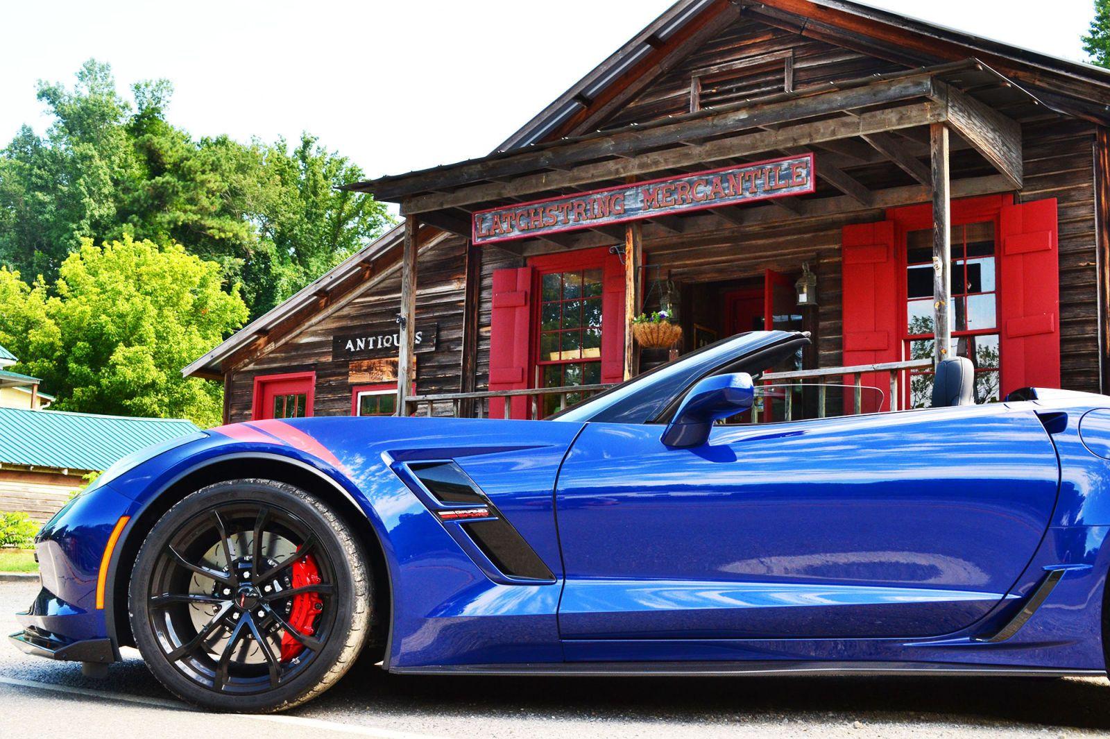 2017 Corvette Grand Sport First Drive