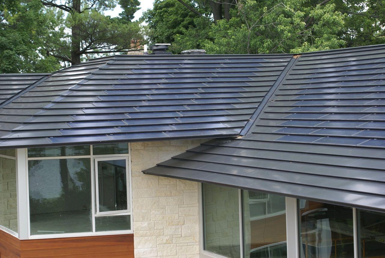 Solar Panel Shingles in 2020 Solar roof shingles, Solar roof