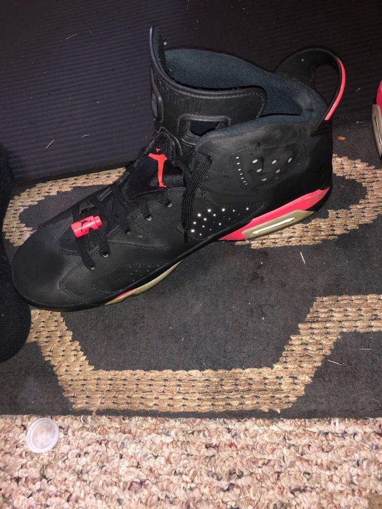 mens jordan bred 6 size 11.5 #shoes