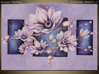 Ručne maľovaný obraz Pokojná magnólia 100x70cm RM2431A_1Z