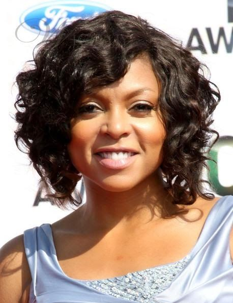 Erin S Faces Girl Crush Taraji P Henson Curly Weave Hairstyles Short Curly Hairstyles For Women Short Hair Styles For Round Faces