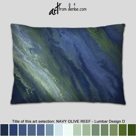 Incredible Olive Green And Navy Blue Lumbar Support Pillow Decorative Ibusinesslaw Wood Chair Design Ideas Ibusinesslaworg