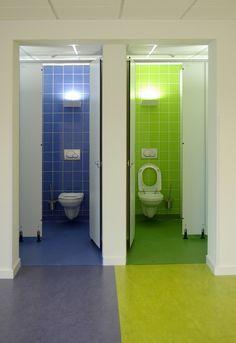 school architecture toilet room toilet design school design school classroom cubicles kindergarten barcelona bible - School Bathroom Design