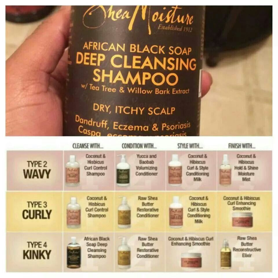 Shea Moisture Products, Curly Hair Tips