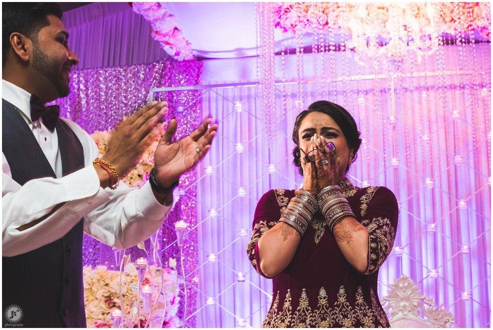 New Jersey Indian Wedding Photographer Hilton Parsippany Reception