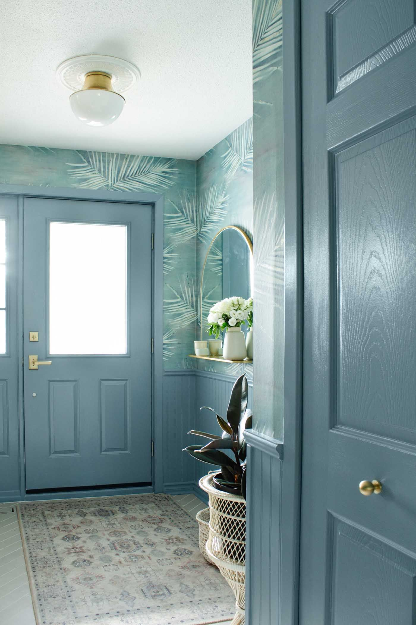 Inspiring Ideas For Entryway Decor Clare Blue Paint Colors Best Blue Paint Colors Blue Paint