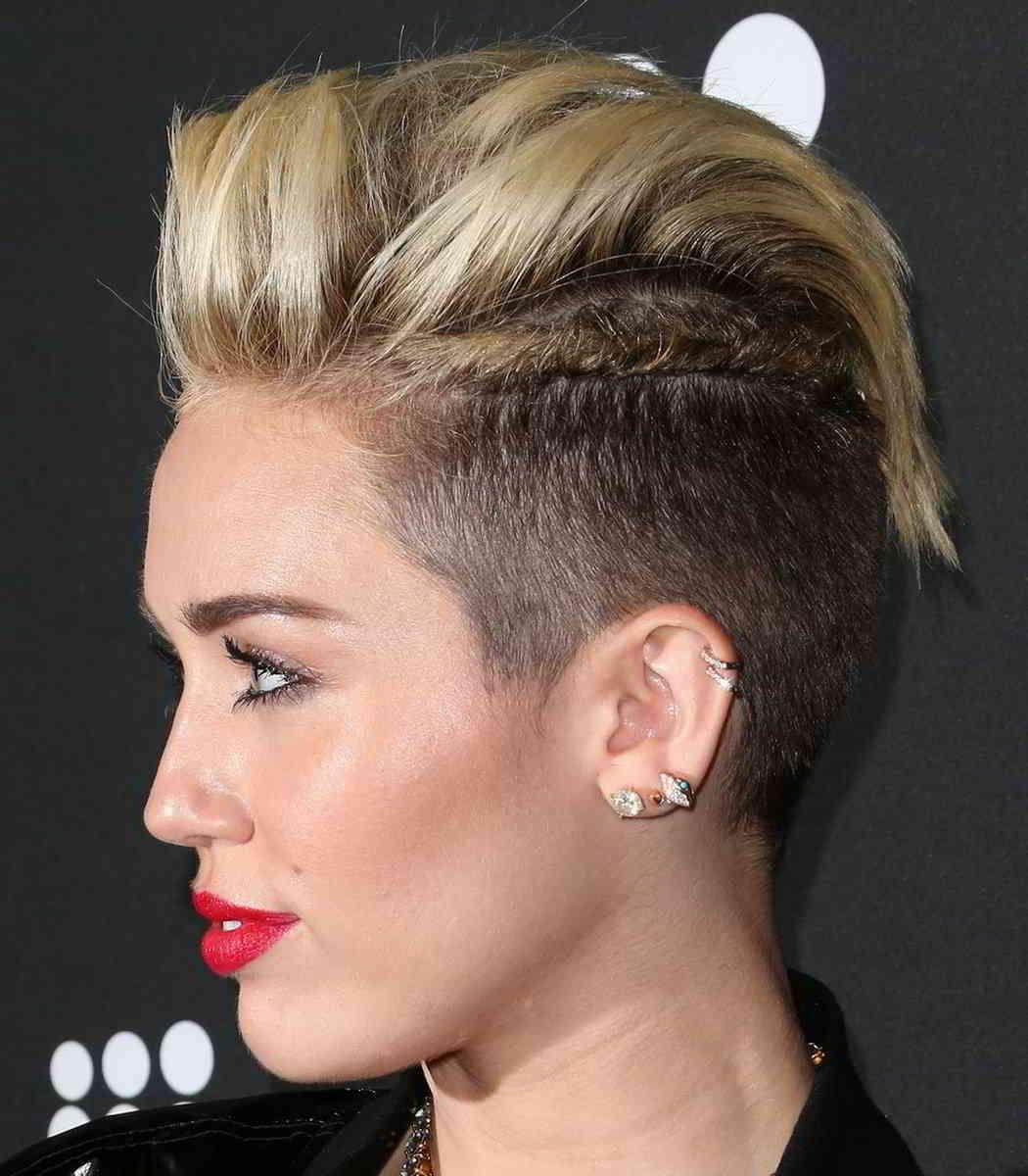 Nice simple hairstyles - Miley Cyrus Hairstyles Are They Nice For Her Simple Hairstyle Ideas For Women