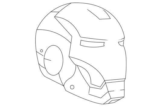 Iron Man Mask Iron Man Helmet Helmet Drawing Iron Man Mask