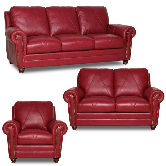 Milano Red Leather Sofa: Cherry Red Leather Sofa Stressless Paloma Cherry Leather