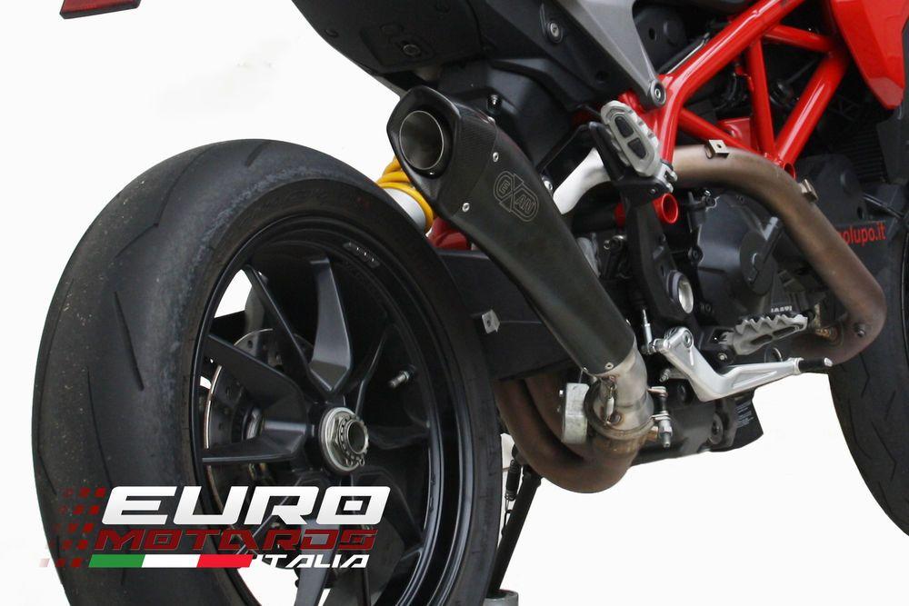 Ducati Hypermotard Hyperstrada 821 939 2013-16 EXAN X-Black Evo