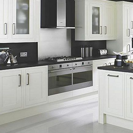 Kitchen-compare.com - Compare Retailers - Ivory Painted Shaker ...