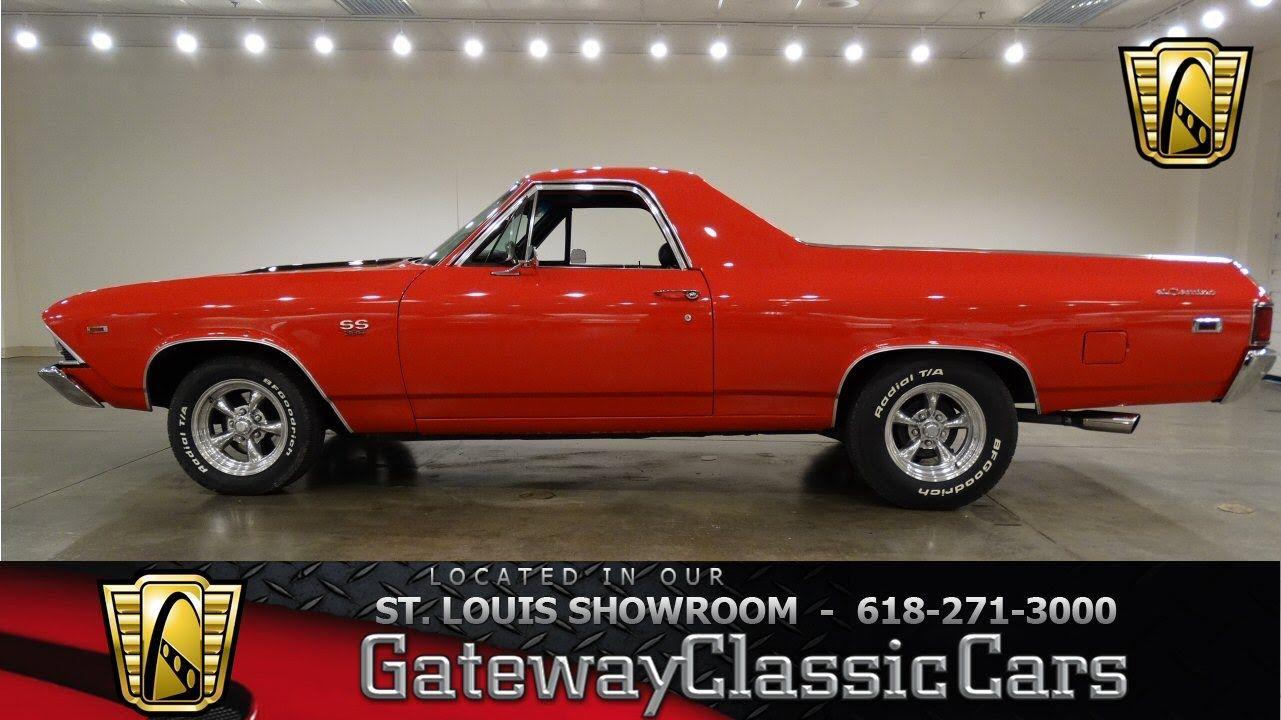 1969 Chevrolet El Camino Ss Gateway Classic Cars St Louis 6669