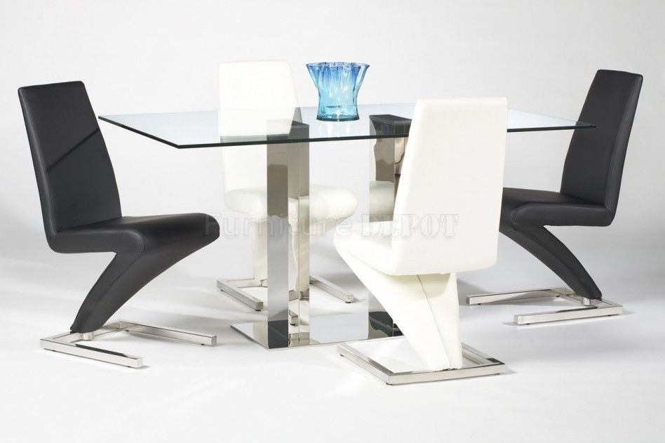 17 New White Leather Dining Room Chairs | Furniture | Pinterest