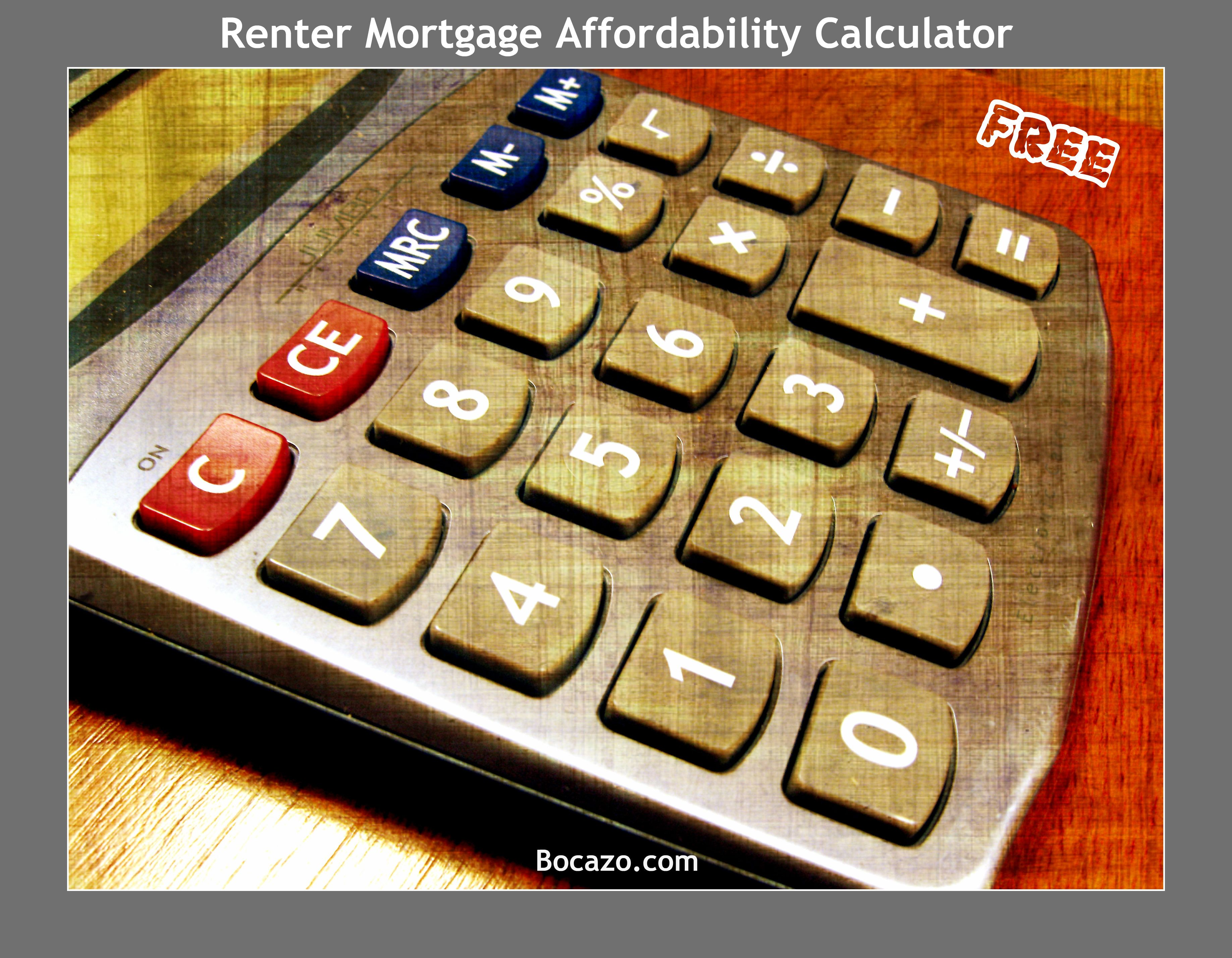 renter mortgage affordability calculator this free calculator will