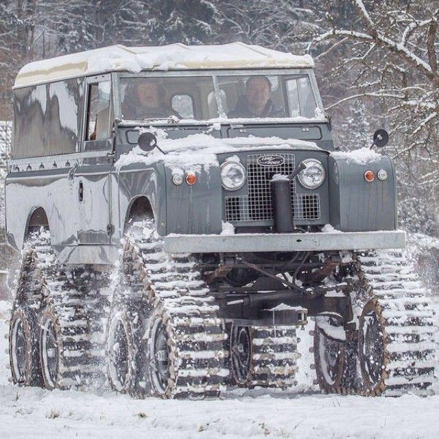 Apocalypse-proof Land Rover.