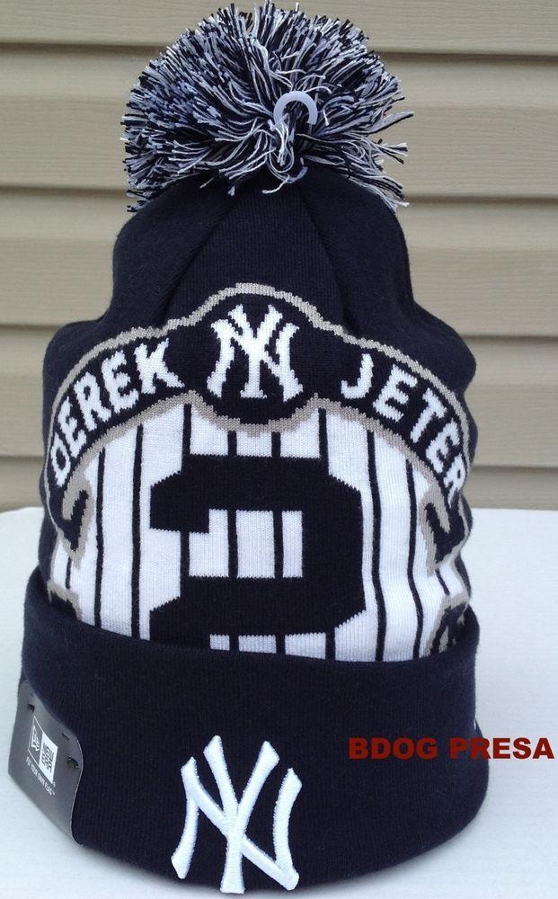 New Era Mlb New York Yankees Derek Jeter 2014 Retirement Beanie Hat Cap New York Yankees Derek Jeter Beanie Hats