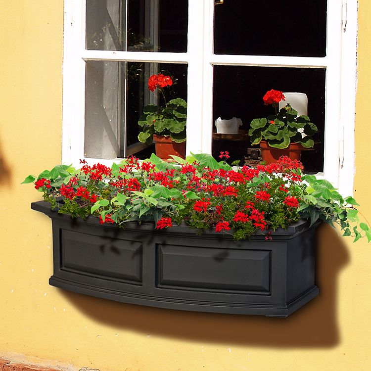 Nantucket 36 Window Box Window Boxes Garden Windows Planters