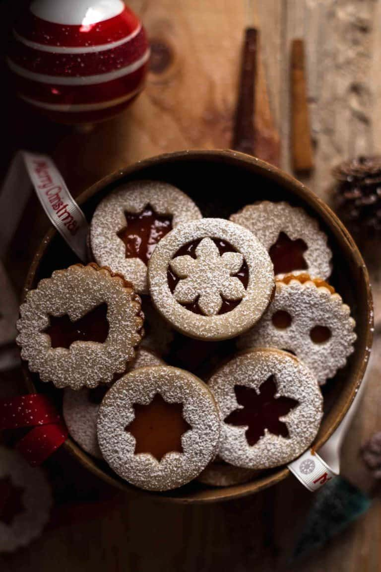These Linzer Cookies melt in your mouth and are full of flavor