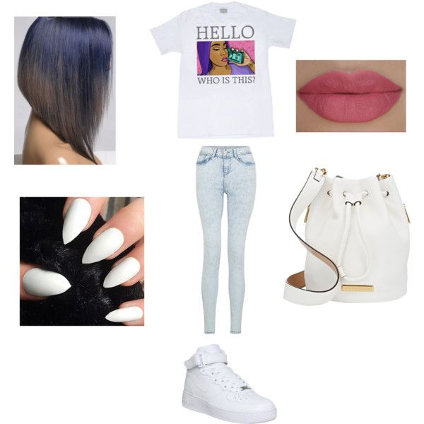 . by ohhthatskamm on Polyvore featuring polyvore, fashion, style, NIKE, Marc by Marc Jacobs and She's So