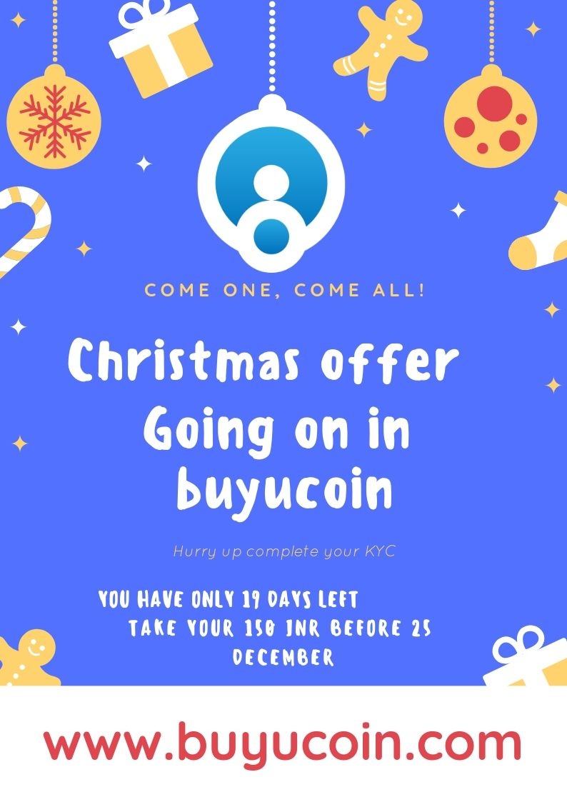 After RBI ban, buyucoin giving 150 INR after completed KYC