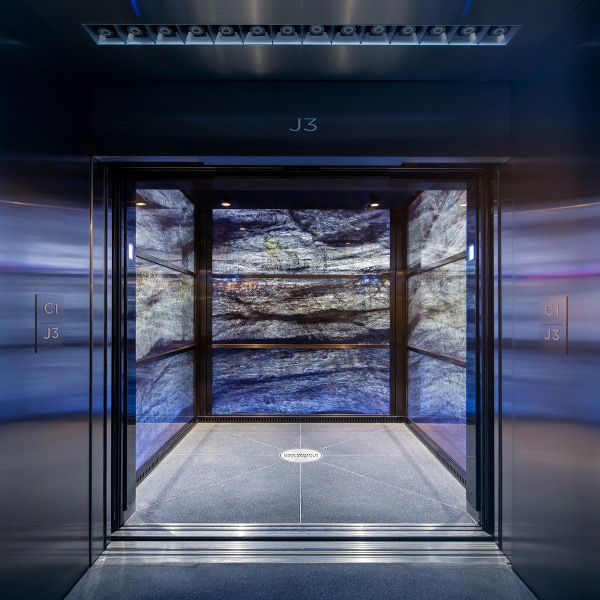 One World Trade Center Elevator Ride Show Google 搜尋 Space