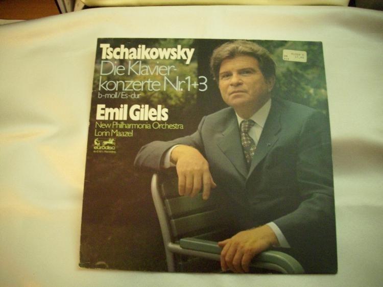 424) LP Tschaikowsky Die Klavierkonzerte 1+3, Preis 9€