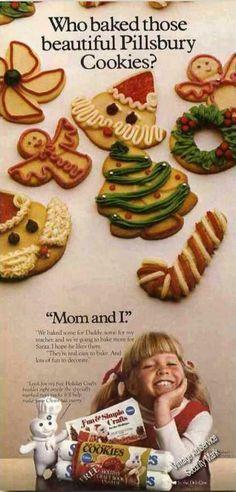 Pillsbury Christmas Cookies Bake Off 1970s Google Search