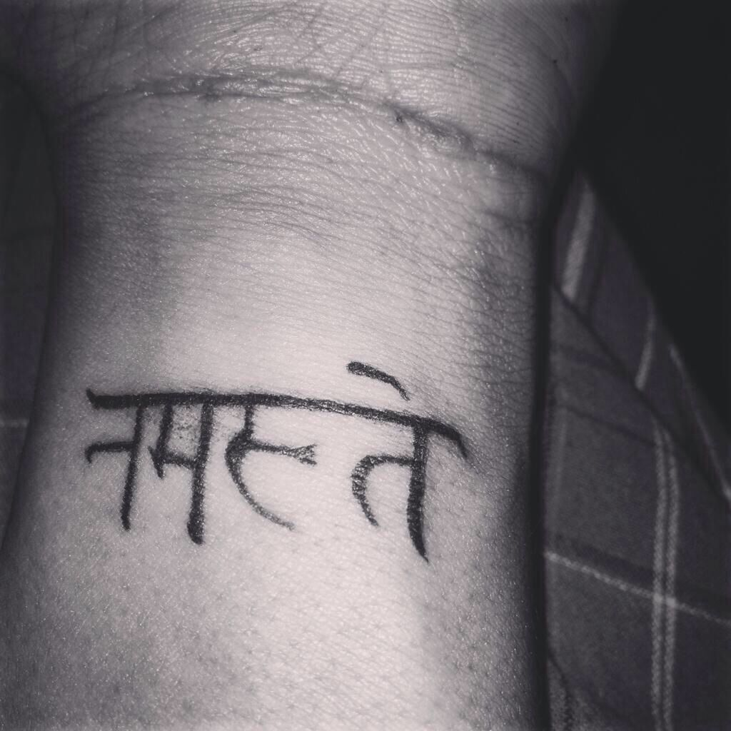 Namaste | Tattoo quotes, Tattoos, Namaste