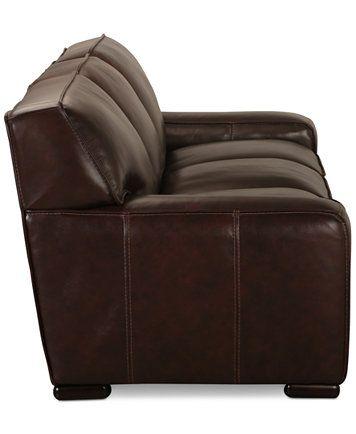 Kassidy Leather Sofa, Only At Macyu0027s   Macys.com