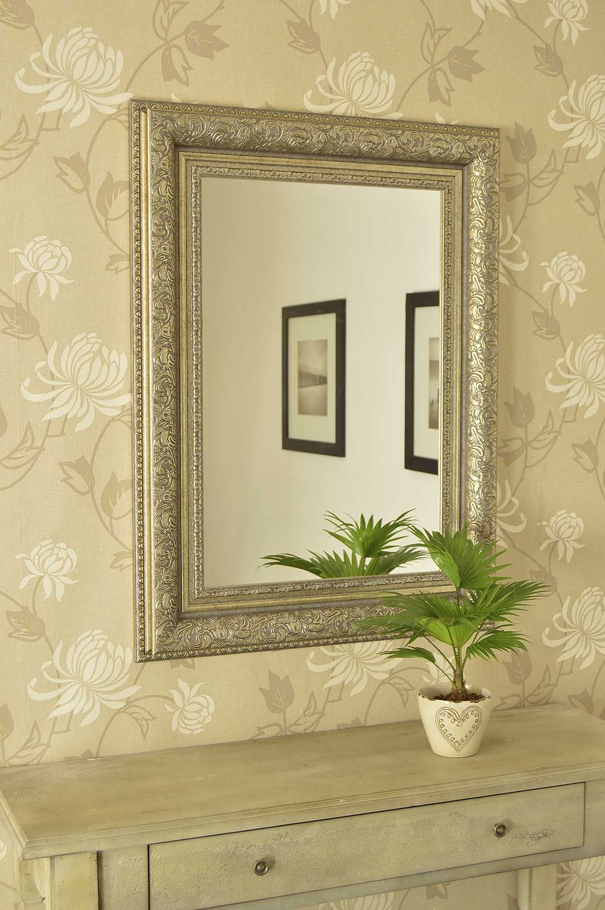 Delighted Big Decorative Wall Mirrors Photos - The Wall Art ...