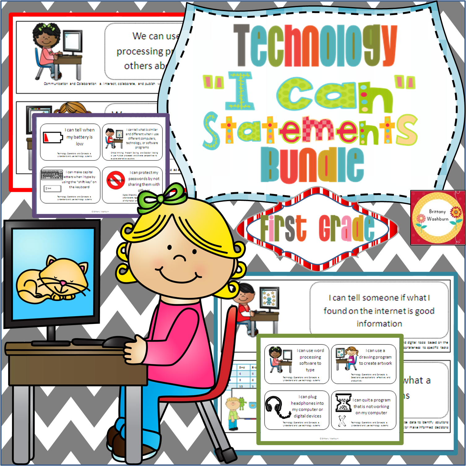 Bundle Of I Can Statements For Technology Standards