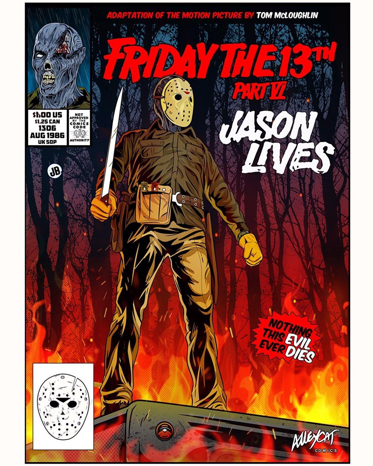 Horror Movie Art, Comic Covers
