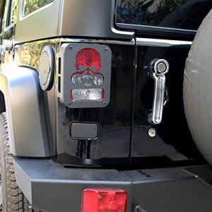 Skeleton Tail Lamp Covers For Jk Jeep Wrangler Jk Jeep Wrangler