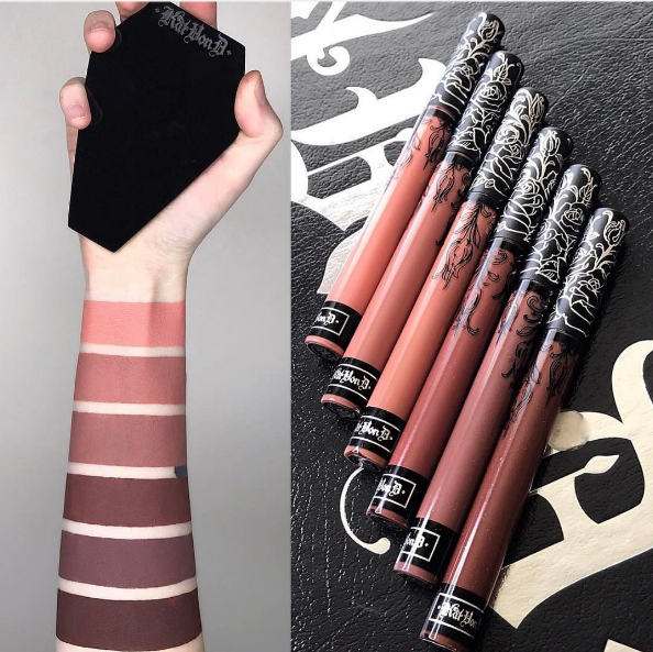 kat_von_d_liquid_lipstick_nouvelle_teinte https://vanillabeaute.com/2017/01/28/6-nouveautes-make-up-kat-von-d-too-faced-kylie-cosmetics/