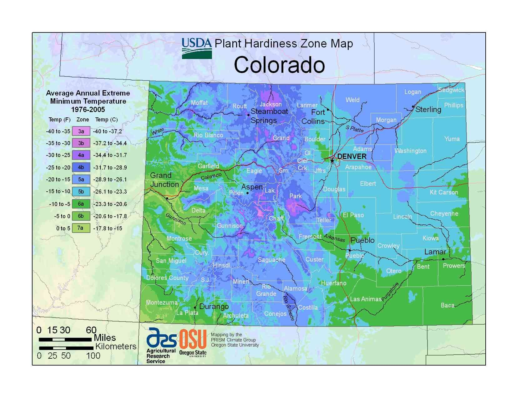 Find Your Usda Zone With These State Maps With Images