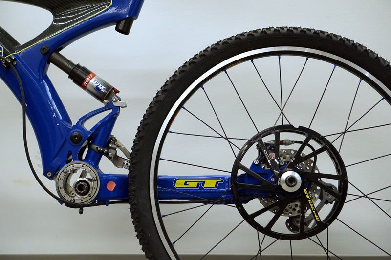 if you thought the prototype and team cannondale mountain bikes from