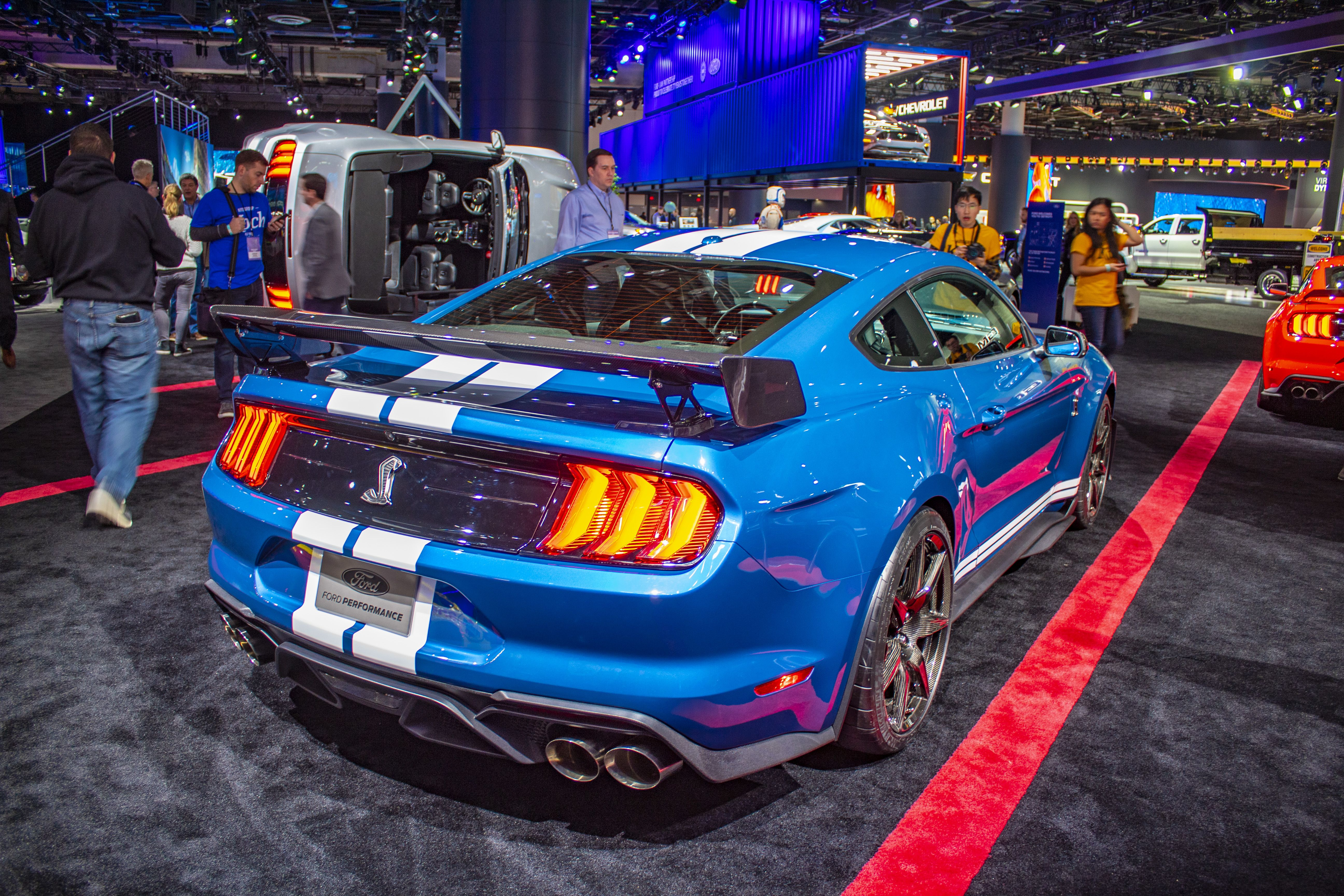 The 2020 Shelby Gt500 Packs More Power Than The Ferrari F8 Tributo
