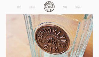 Website over Gin, zeer mooi gemaakt. http://www.brooklyngin.com/