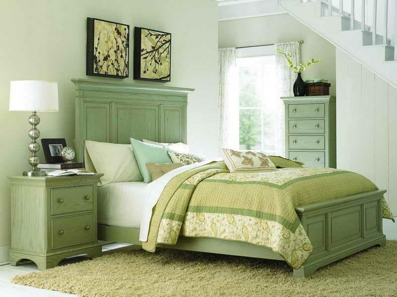 Sage Green Wall Paint Bedrooms Bonasty