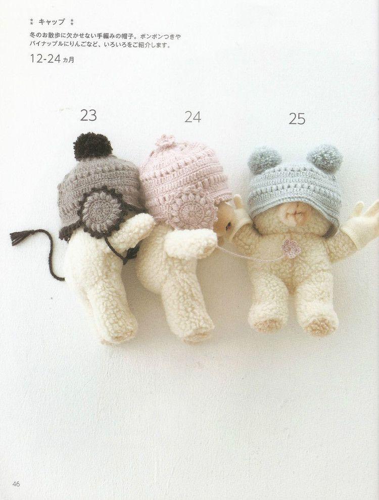 6.jpg (750×989) | Crochet PIES, MANOS, CABEZA | Pinterest