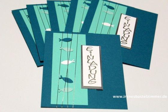 einladungskarte zur konfirmation - stampin' up