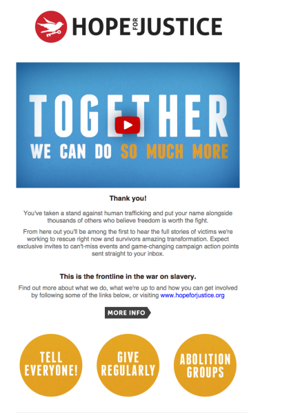How To Retain New Donors With An Effective Welcome Email Series