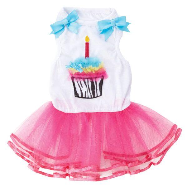 7412e143426d Petsmart.com - Dog: Clothing & Accessories: Top Paw™ Cupcake Tutu Dress for  Mayzie!