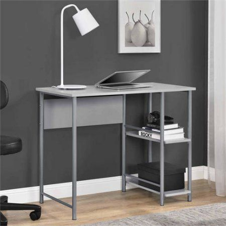 Mainstays Basic Student Desk Multiple Colors Walmart Com Metal Office Desk Student Desks Small Computer Desk