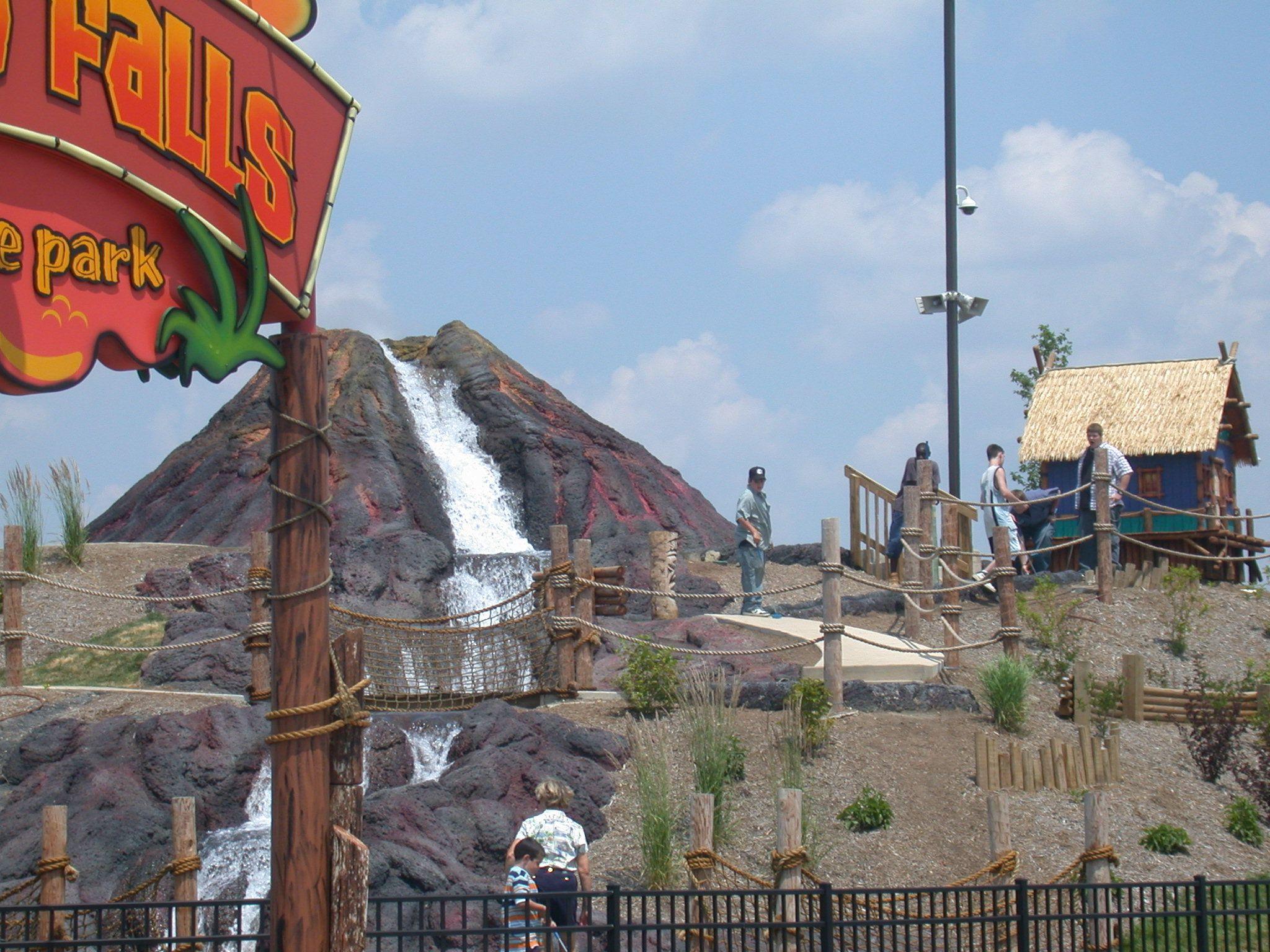 Volcano Falls Adventure Park - Rockford, IL http://www.gorockford ...