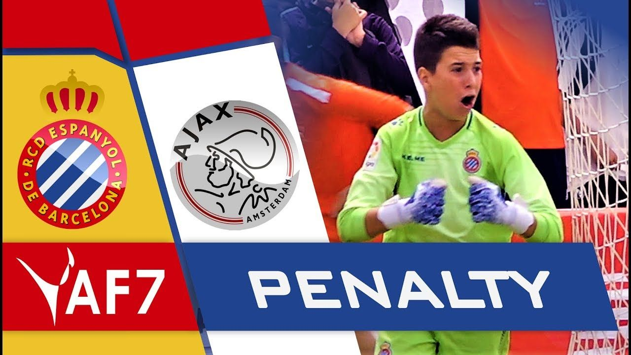 Resumen Penalty De Rcd Espanyol Vs Afc Ajax Arousa Fútbol 7 Torneos De Futbol Futbol 7 Canales De Futbol