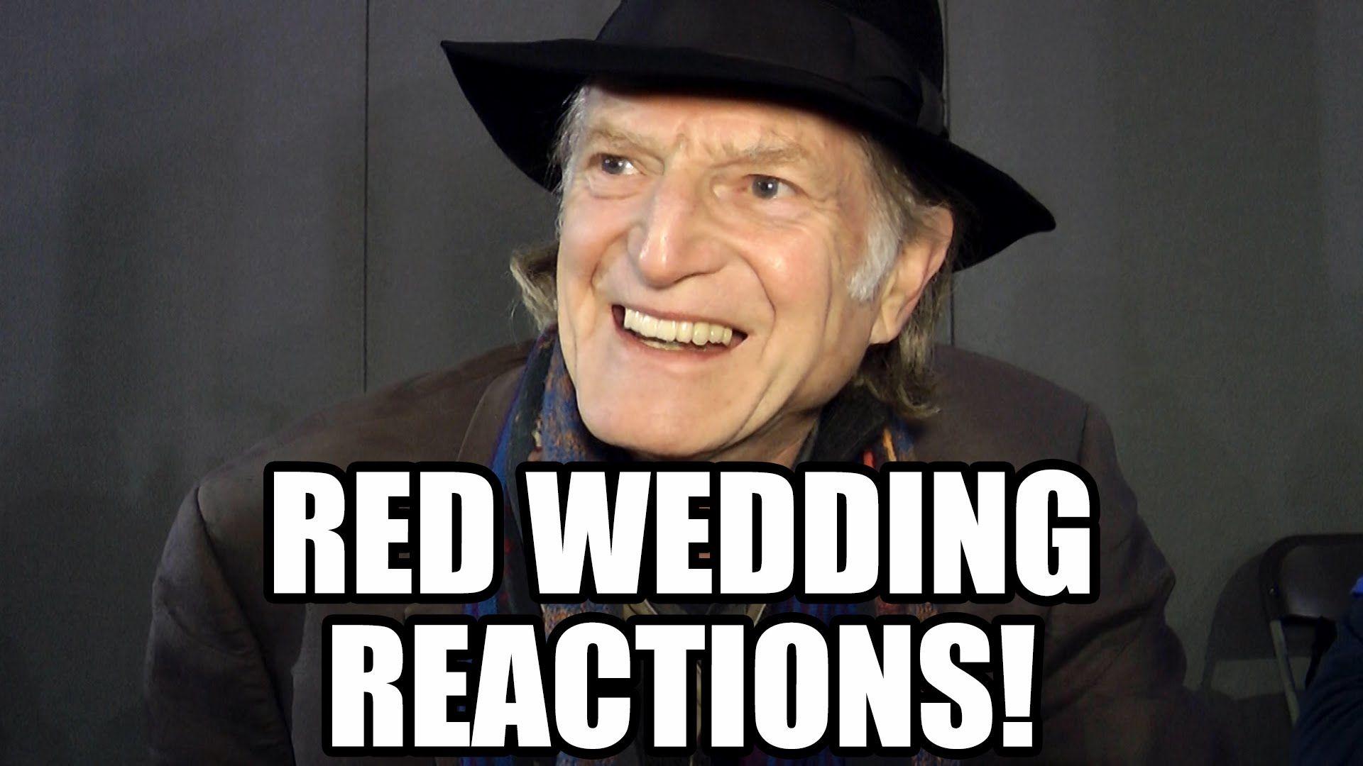 Of Thrones Red Wedding Reactions 2 Walder Frey Ramsay Snow Yara